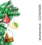 new years background from the... | Shutterstock .eps vector #122365600