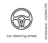 car steering wheel icon. trendy ...   Shutterstock .eps vector #1223661790