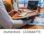 administrator business man... | Shutterstock . vector #1223666773