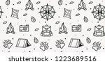 vector seamless pattern of... | Shutterstock .eps vector #1223689516