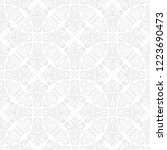 orient vector classic pattern.... | Shutterstock .eps vector #1223690473