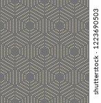 geometric repeating vector... | Shutterstock .eps vector #1223690503
