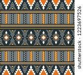 Tribal Seamless Pattern....