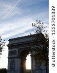 arc de triomphe  paris  france | Shutterstock . vector #1223701339