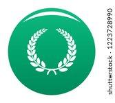 triumph wreath icon. simple...   Shutterstock . vector #1223728990