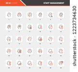 vector set of business and...   Shutterstock .eps vector #1223734630