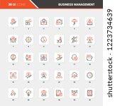 vector set of business...   Shutterstock .eps vector #1223734639