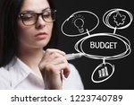 the concept of business ...   Shutterstock . vector #1223740789