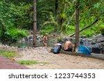 mae hong son   thailand  ... | Shutterstock . vector #1223744353