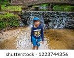 mae hong son   thailand  ... | Shutterstock . vector #1223744356