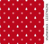 seamless pattern for christmas. ... | Shutterstock .eps vector #1223746246