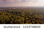aerial view of munich city. | Shutterstock . vector #1223748850