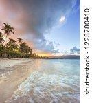 Sunset Secluded Beach Las Galeras - Fine Art prints