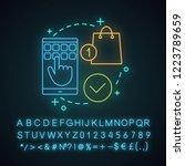 select items neon light concept ...   Shutterstock .eps vector #1223789659