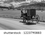 Amish Buggy In Holmes County...