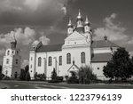 belarus. the grodno region.... | Shutterstock . vector #1223796139