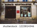 paris  france   apr 7  2015 ... | Shutterstock . vector #1223814346