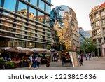 prague  czech republic   august ... | Shutterstock . vector #1223815636