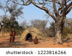 village of the san in namibia | Shutterstock . vector #1223816266