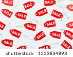 black friday sales discount... | Shutterstock . vector #1223834893