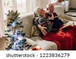 senior couple spending happy...   Shutterstock . vector #1223836279