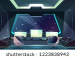 future spaceship captains... | Shutterstock .eps vector #1223838943