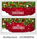 abstract beauty christmas and... | Shutterstock . vector #1223838946