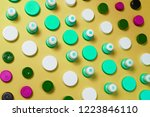 ecology recycling concept. many ... | Shutterstock . vector #1223846110