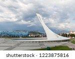 sochi  russia   june 14 ... | Shutterstock . vector #1223875816