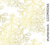 golden seamless pattern with... | Shutterstock .eps vector #1223900266