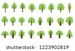 collection of trees. can be... | Shutterstock .eps vector #1223902819