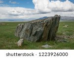 large single stones on the... | Shutterstock . vector #1223926000