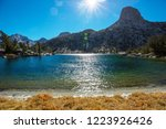 beautiful nature scene in... | Shutterstock . vector #1223926426