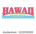 Hawaii Waikiki Beach  Varsity...
