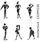 the symbolic representation... | Shutterstock .eps vector #122395138