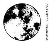 grunge stamp ring overlay... | Shutterstock .eps vector #1223955733