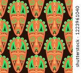 seamless pattern. abstract... | Shutterstock .eps vector #1223961040