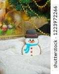 gingerbread for christmas  ... | Shutterstock . vector #1223972266