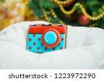 gingerbread for christmas  ... | Shutterstock . vector #1223972290