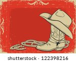 Red American Western Background ...