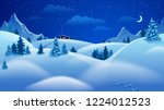 vector illustration with... | Shutterstock .eps vector #1224012523