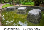 image of water pond at pong nam ... | Shutterstock . vector #1224077269