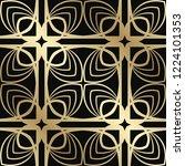 art deco vintage seamless... | Shutterstock .eps vector #1224101353