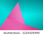 turquoise and pink abstract... | Shutterstock .eps vector #1224105490