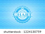 chart water wave representation ... | Shutterstock .eps vector #1224130759
