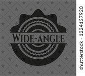 wide angle dark emblem | Shutterstock .eps vector #1224137920