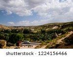 aerial view of asphalt road in... | Shutterstock . vector #1224156466