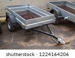 open car trailer | Shutterstock . vector #1224164206