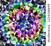 abstract background multicolor... | Shutterstock . vector #1224168649