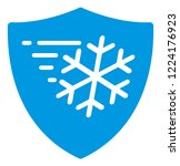frost protection icon on a...   Shutterstock .eps vector #1224176923